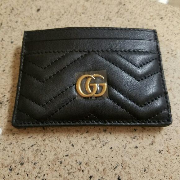 45ff9d9b756 Gucci marmont card case